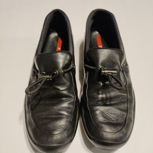 PRADA LOAFERS WITH TOGGLE STRING
